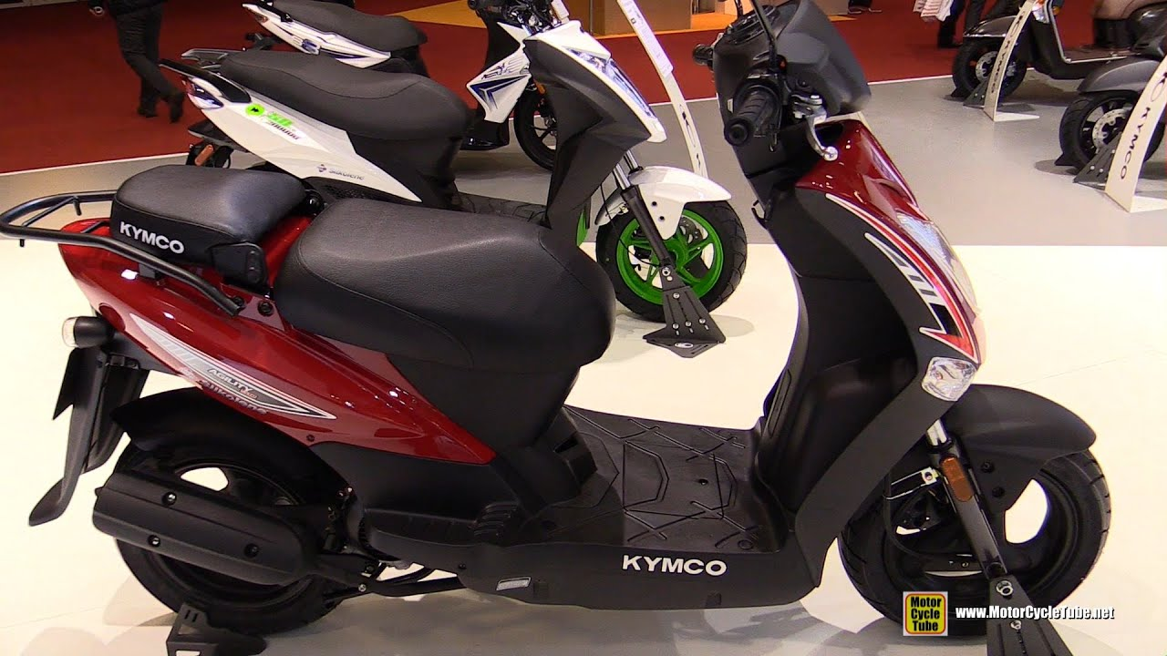 2016 kymco agility 50 walkaround 2015 salon de la moto paris youtube. Black Bedroom Furniture Sets. Home Design Ideas