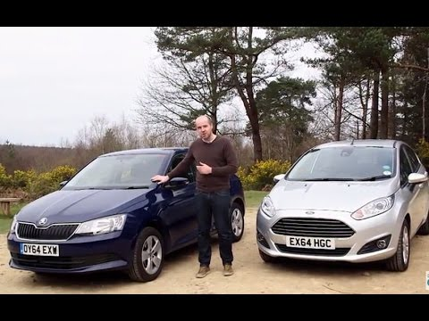 Ford Fiesta vs Skoda Fabia | TELEGRAPH CARS