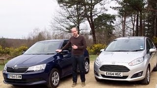 Ford Fiesta vs Skoda Fabia | TELEGRAPH CARS