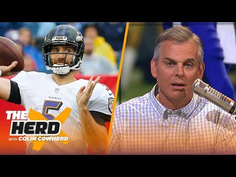 Colin Cowherd explains why he loves the Joe Flacco to Denver Broncos trade | NFL | THE HERD
