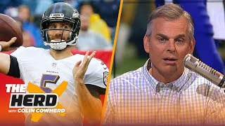 Colin Cowherd explains why he loves the Joe Flacco to Denver Broncos trade | NFL | THE HERD