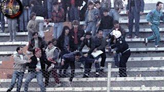 Olympiakos - Panathinaikos 1990  Riots  // Pyro-Greece