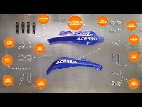 RALLY PROFILE Handguards - Installation Guide