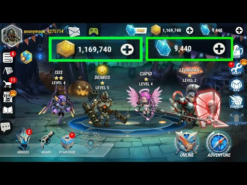 Heroes Infinity Mod Apk 1 14 9 Latest Version by CC Copy Cats TV