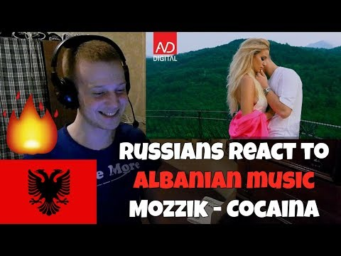 RUSSIANS REACT TO ALBANIAN MUSIC | Mozzik - Cocaina | REACTION TO ALBANIAN RAP