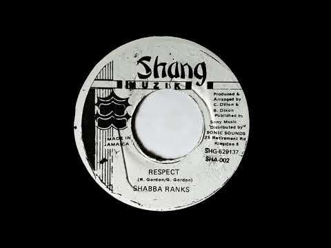SHABBA RANKS - Respect (1993) Shang