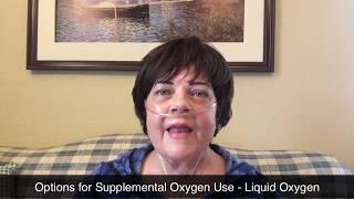 Options for Supplemental Oxygen - Liquid Oxygen