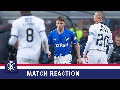 REACTION   Jordan Rossiter   Dundee 1-1 Rangers