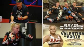 Valentina Shevchenko Fans Only Video: Coach Trying To Win The Shevchenko Sweepstakes