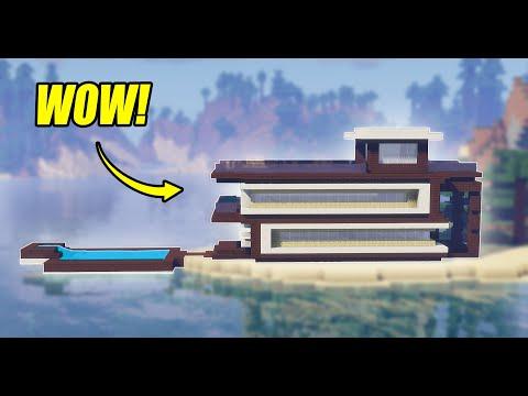 Minecraft: How to Build a Modern Beach House!