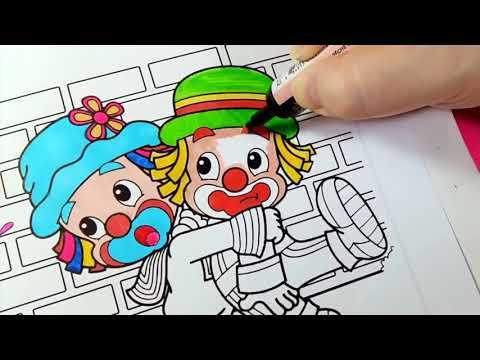 Patati E Patata E A Dona Aranha Desenho Para Colorir Youtube