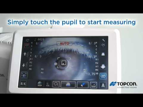 Topcon KR -1 English (kerato refractometer)