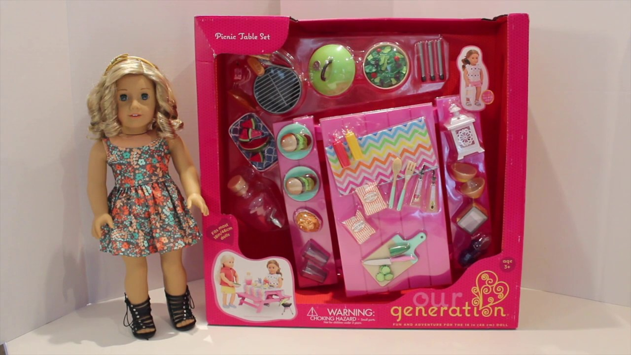 Our Generation Picnic Table Set Review Perfect For