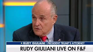 Giuliani: Comey Tried to 'Frame' Trump After IG Report