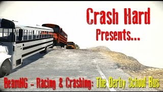 BeamNG - Racing & Crashing: The Derby School Bus MOD