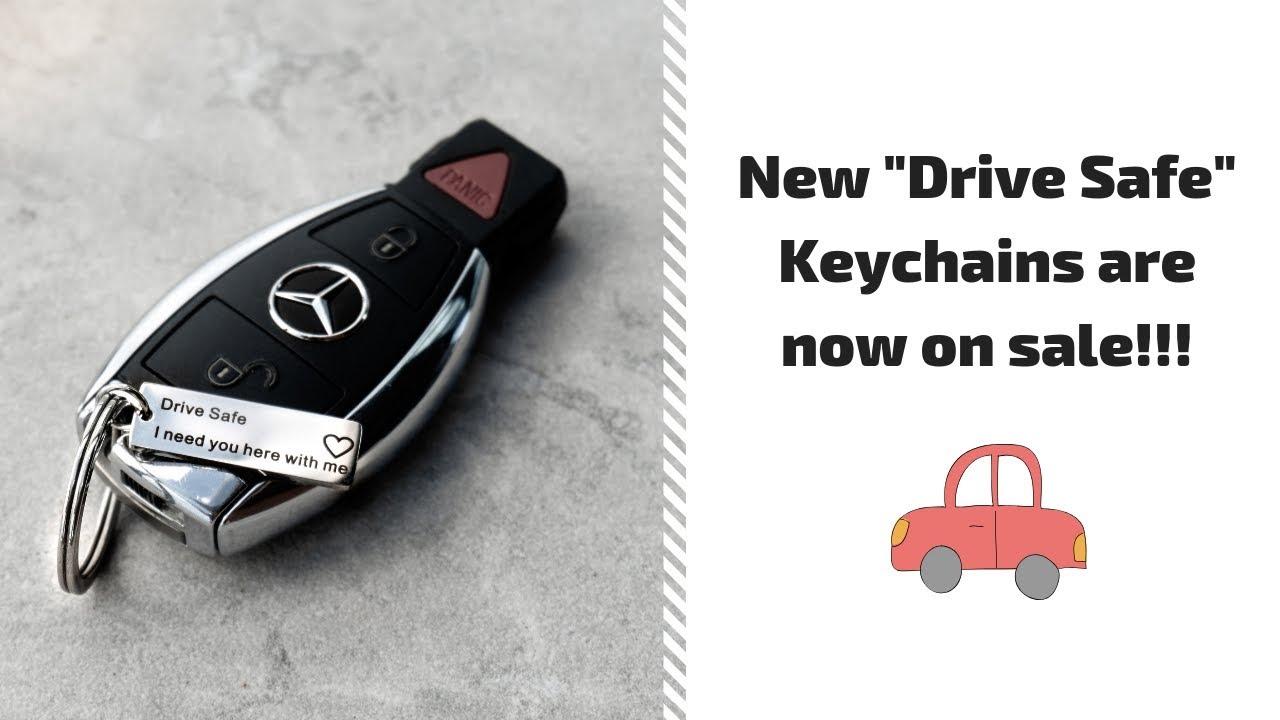 Drive Safe Keychain + Reviews AlphaAccessories co Alpha Accessories