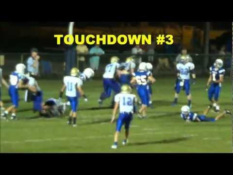 2012.10.5 Griffin Creekmore Calhoun Academy vs Florence Christian School FCS