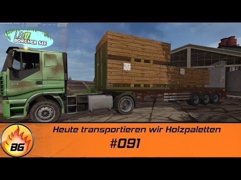 LS17 - BorcherSee 2017 #091   Heute transportieren wir Holzpaletten   Let's Play [HD]