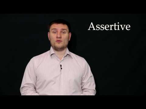 #1 ASSERTIVE – Word of the Day/Слово Дня