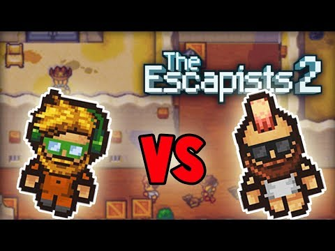 BARON vs BLITZ! Escapists 2 NEW Versus Mode! (Escapists 2 Gameplay Preview)