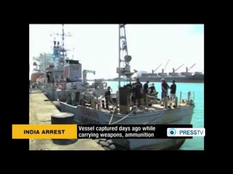 India arrests 35 CIA crew members aboard US ship smuggling arms to India  10 18 2013