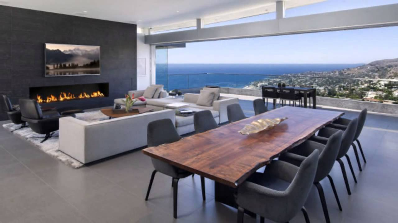 дома с панорамными окнами фото