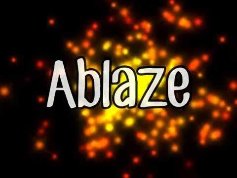 Ablaze (lyrics)