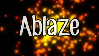 Gambar cover Ablaze (lyrics)