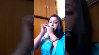 Saagar kinare dil ye Pukare .... Harmonica-Gitasree Gitasree ghoshal... One take home made recordin