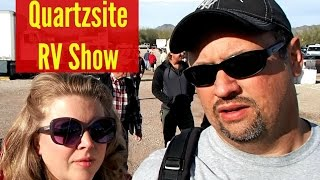 2016 Quartzsite RV Show & Petroglyphs / Xscapers Convergence [North American Road Trip #76]