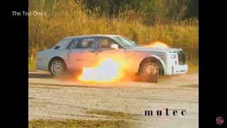 اختبار السيارات المصفحة ضد الرصاص و القنابل