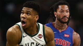 Milwaukee Bucks vs Detroit Pistons - Full Game Highlights | November 23, 2019-20 NBA Season
