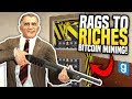 MAKING THOUSANDS FROM BITCOIN MINING - Gmod DarkRP  Rags to Riches #13 (Bitcoin Miner Roleplay)
