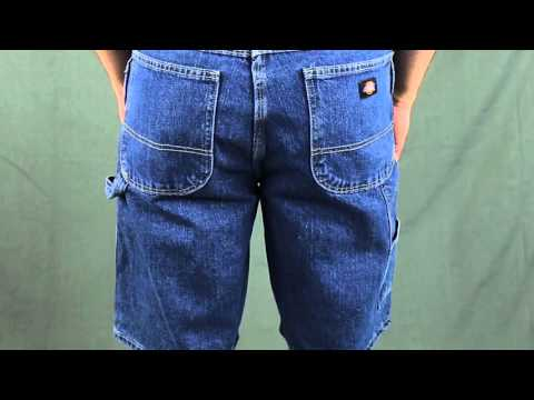 Dickies Work Clothes Denim Carpenter Shorts DX200