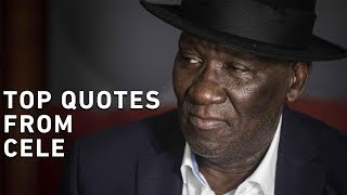 Police Minister Bheki Cele addressed the media during a briefing in Centurion about Senzo Meyiwa, the firearms amnesty and the police not taking leaving during the festive season.