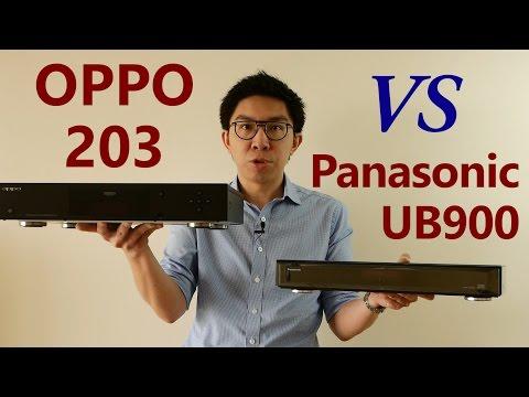 OPPO UDP-203 vs Panasonic DMP-UB900: Picture Quality Comparison