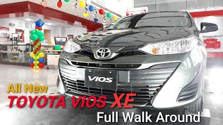 Toyota Vios XE Automatic  | Walk Around | Alumina Jade