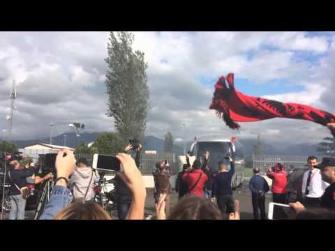 National Team of Albania celebration