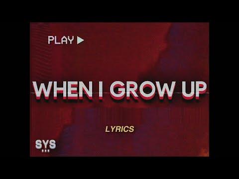 NF – When I Grow Up (Lyrics)