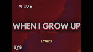 NF – When I Grow Up (Lyrics)