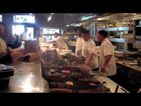 Restaurant Kitchen Images houston's restaurant cooks in action - youtube