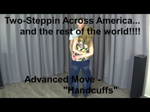 "ADVANCED LESSON (Brand New Series!) - ""Handcuffs"" - Rhythm (AZ) Two Step - Country Dance Tutorials"