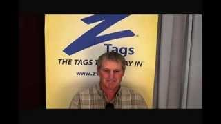 Bob's Z Tags Testimonial from 2010 World Dairy Expo