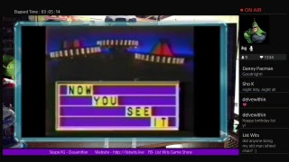 List Wits Game Show - 11/8/17 - The Last Show of Birthday Week!