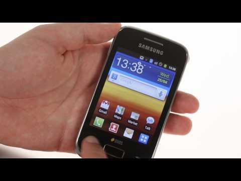 Samsung Galaxy Y Duos S6102 UI demo