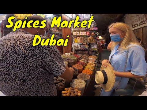 Gold Souk and Spice Souk Dubai   Abra Ride in Dubai   The Traveler King