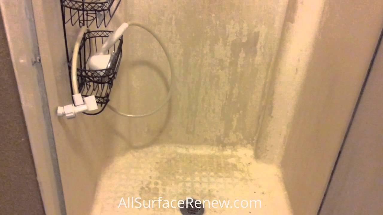 Fiberglass Shower Stall - YouTube