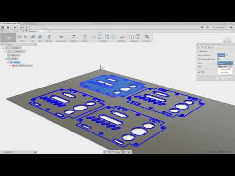 Fusion 360: Speed Up Programming for Waterjet, Laser and Plasma 2D Cutting