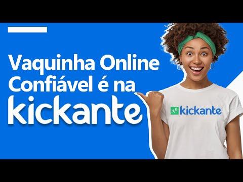 Vaquinha Online Confiável é na Kickante!