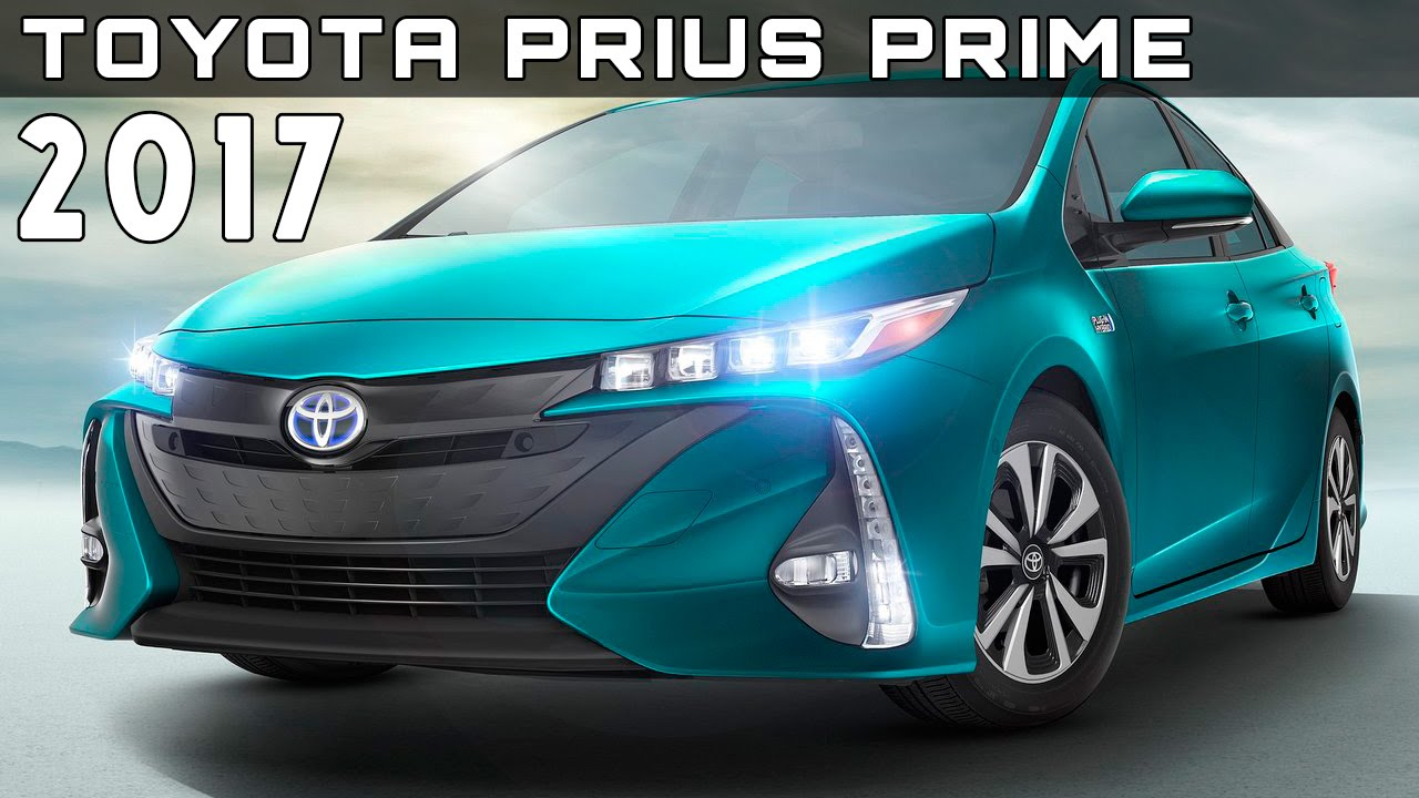 2017 Toyota Prius Prime Review Rendered Price Specs Release Date You